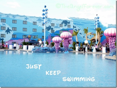 Just keep swimming - Art of Animation Resort
