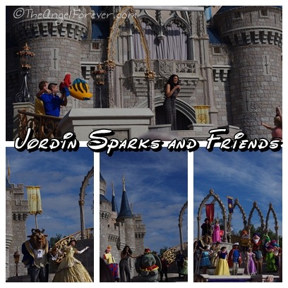 Jordin Sparks at New Fantasyland Opening