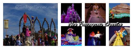 New Fantasyland Opening