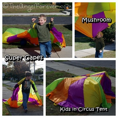 Parachute Game Fun