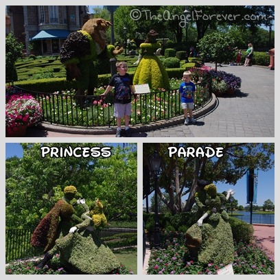 Epcot Flower and Garden Princesses