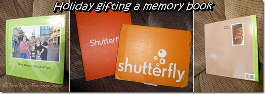 Front and Back of Shutterfly Photobook