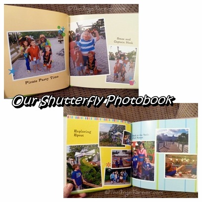 Inside the Shutterfly Photobook