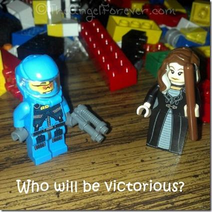 Bellatrix Lestrange vs Alien Hunter