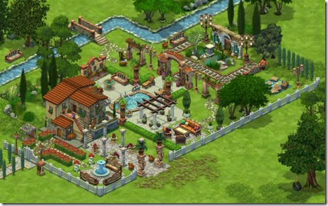Tuscan Theme in Tail Towns