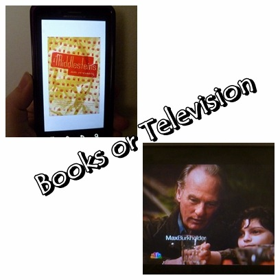 To read or watch television