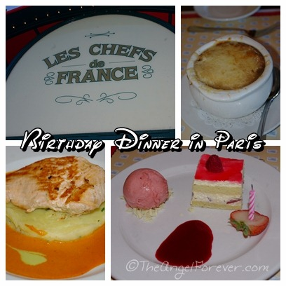 Dinner at Les Chef de France in Epcot