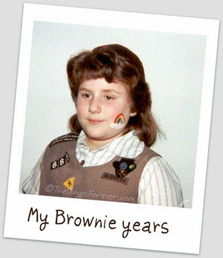 Me As a Brownie Girl Scout