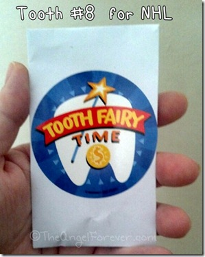 Tooth Fairy Visit Time