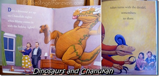 A look inside How Do Dinosaurs Say Happy Chanukah