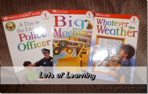 DK Learning early reader books
