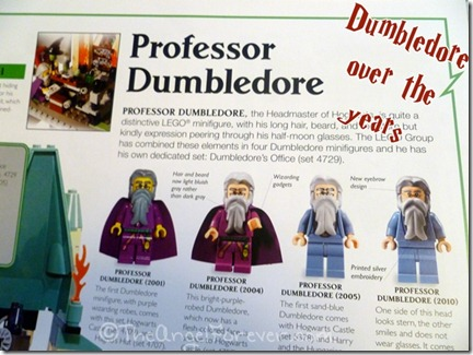 Dumbledore LEGO history