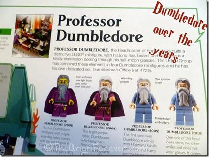 Dumbledore LEGO history