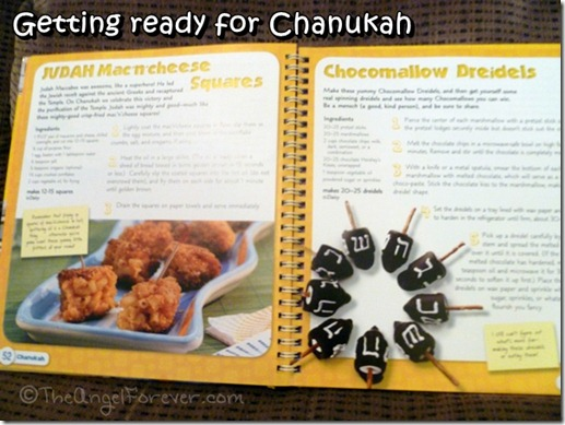 Chanukah recipes from Get Cooking! A Jewish American Family Cookbook