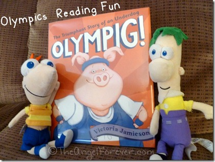 Olympics Reading Fun with Olympig