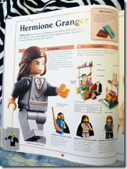 Hermione Granger LEGO history