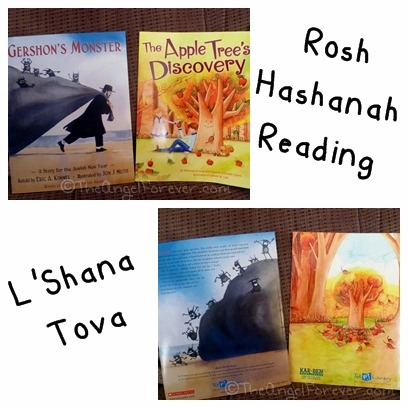 Rosh Hashanah Books for Kids