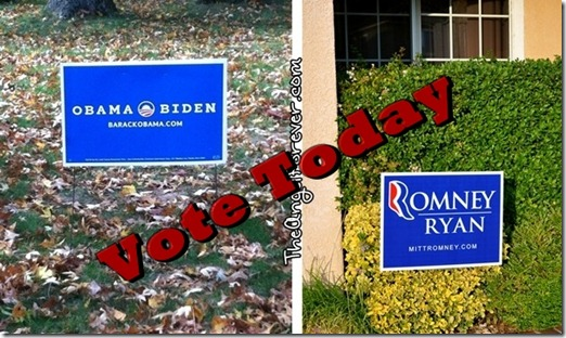 Vote Today - Election Day 2012