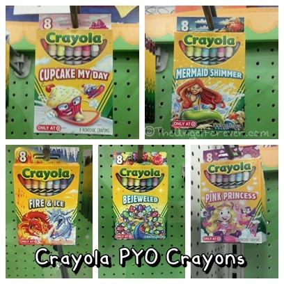 Crayola PYO Crayons from Target