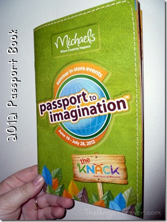 Michaels 2012 Passport to Imagination Book