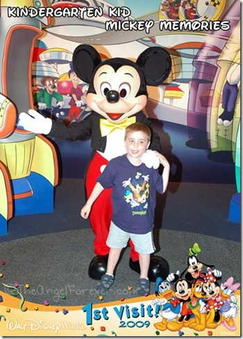 Finally time to meet Mickey Mouse