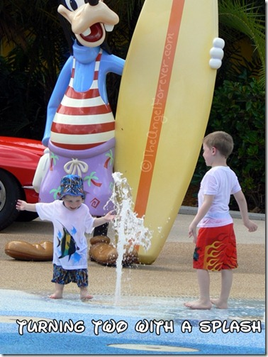 Pop Century Resort Goofy Splash Pad