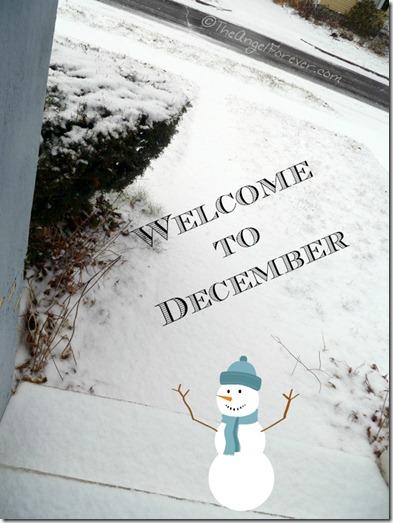Winter Says Hello