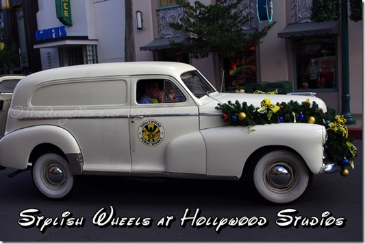 Public Works Car at Disney's Hollywood Studios