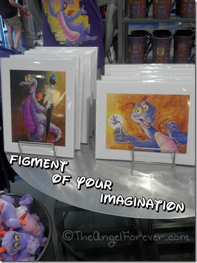Figment display at Epcot