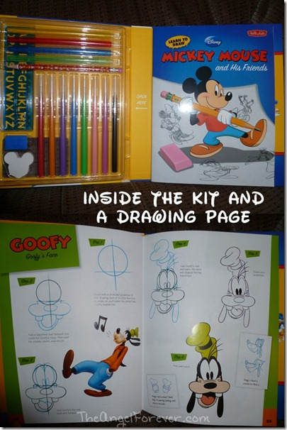 Inside the Mickey Mouse Kit