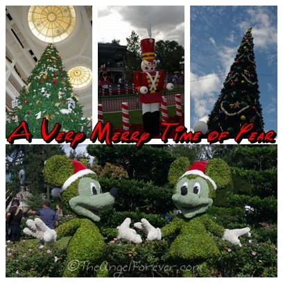 Christmas Time at Walt Disney World