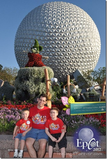 The Boys at Epcot