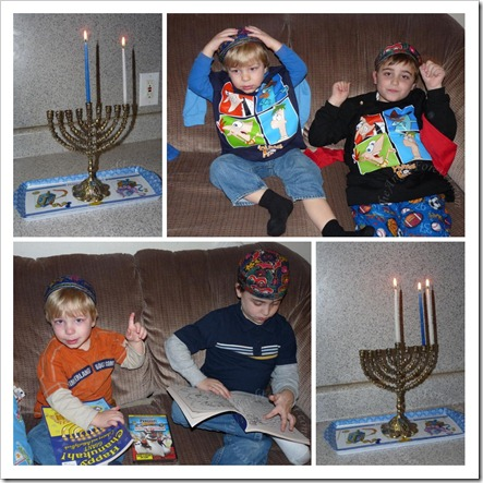 Low key Chanukah