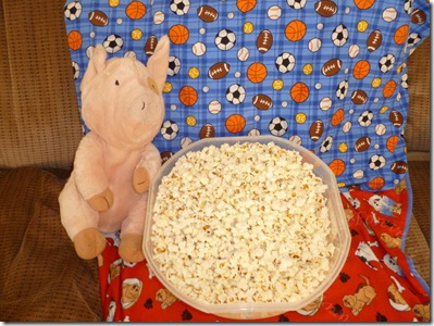 Piggy Popcorn Time