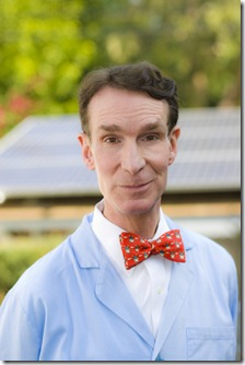 Portraits of Bill Nye at his home in Studio City, California.