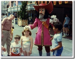 Captain Hook in 1983