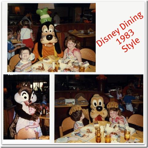 DisneyDining in 1983