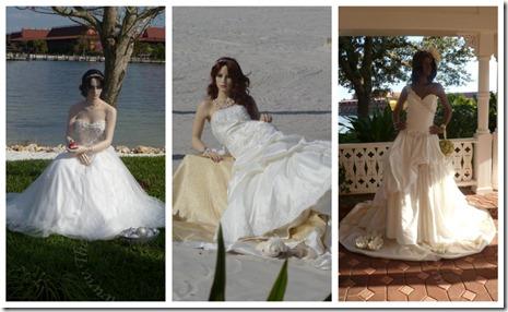 Princess inspired wedding dresses