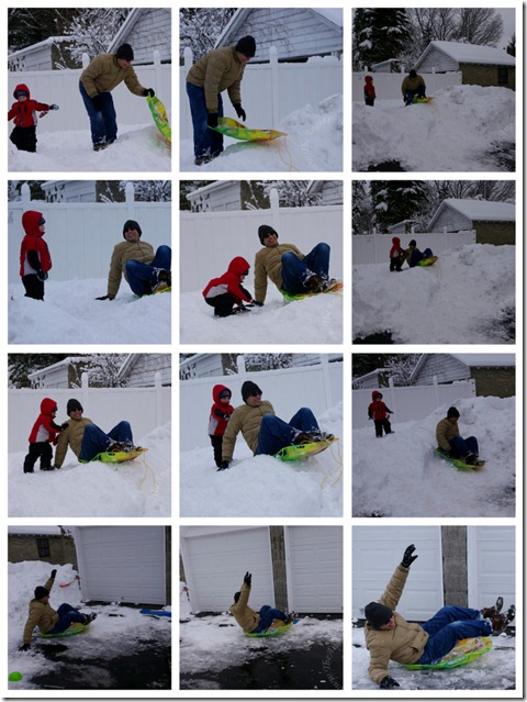 TechyDad Sled Time
