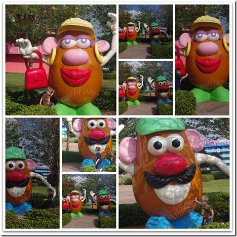 Fun With Mr. and Mrs. Potato Head