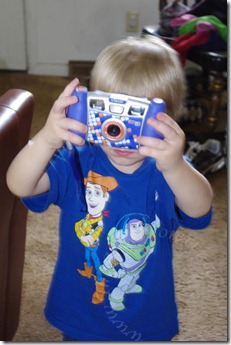 Taking photos of Mommy taking photos