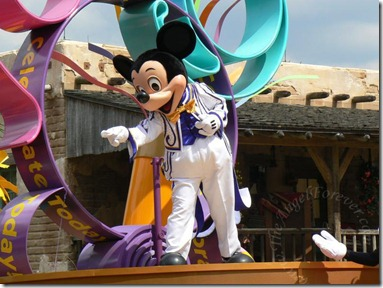 Mickey On Parade