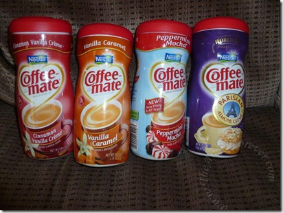 Some of my Coffee-mate collection