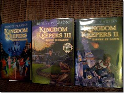 Three of the Kingdom Keepers Books