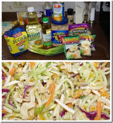 Asian Salad for Dad