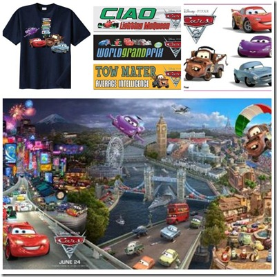 Cars 2 Prize Pack