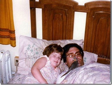 Dad and Little Me