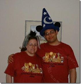Our Honeymoon Disney Ears