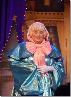 Fairy Godmother at DisneySMMoms