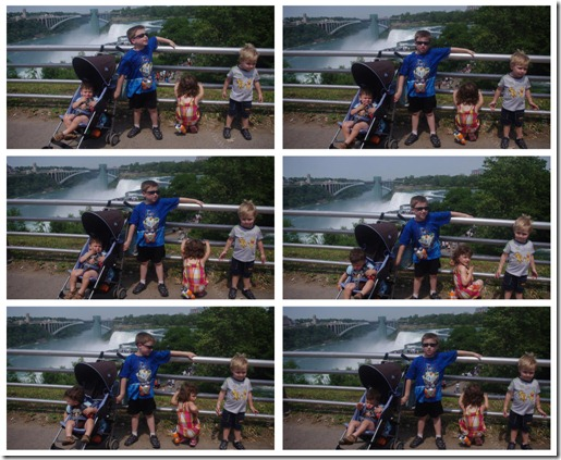 All 4 at Niagara Falls